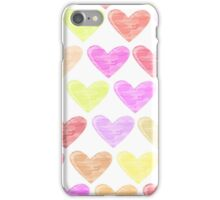 Hearts - JUSTART © iPhone Case/Skin