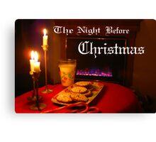 """Christmas Eve Night"" Canvas Print"