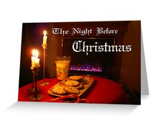 """Christmas Eve Night"" Greeting Card"