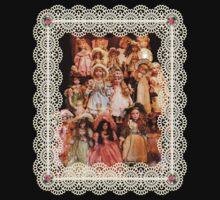 So Many Dolls! A Birthday Greeting One Piece - Short Sleeve