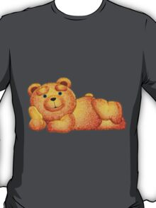 Lazzy Teddy bear Blue eyes T-Shirt