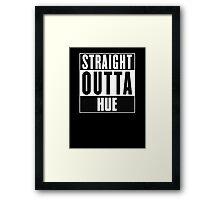 Straight outta Hue! Framed Print