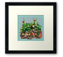 Happy Pi Day from the Isle Of Pi Framed Print