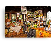 Diggers Club Shop Canvas Print