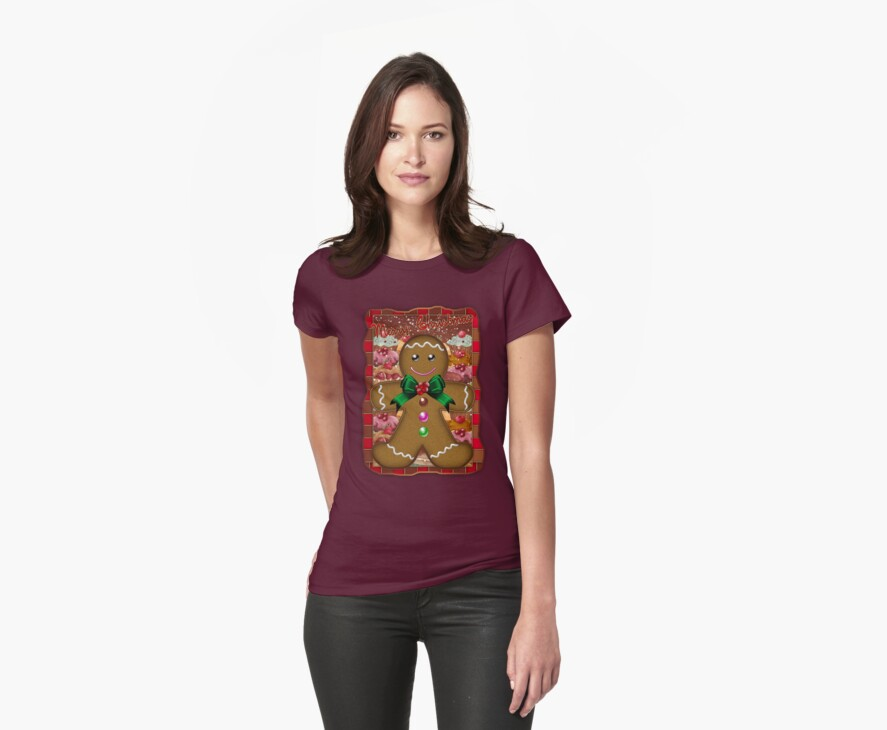 Gingerbread Man T-Shirt by Moonlake