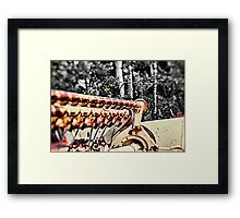 A Farmer's Tools Framed Print