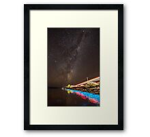 Sea Sparkle Framed Print