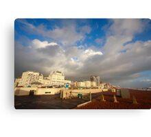 Brighton seafront Canvas Print