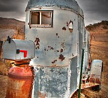 Horse Trailer Gone Postal by IdahoJim