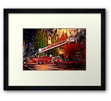 Salem Fire Engine Framed Print