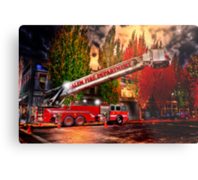 Salem Fire Engine Metal Print