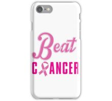 Beat Breast Cancer iPhone Case/Skin