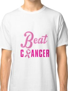 Beat Breast Cancer Classic T-Shirt