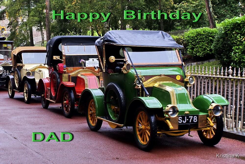 Happy Birthday Dad by Kristina K