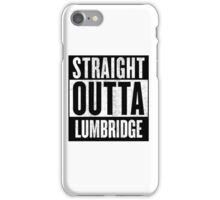 Straight Outta Lumbridge iPhone Case/Skin