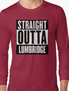 Straight Outta Lumbridge Long Sleeve T-Shirt