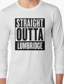 Straight Outta Lumbridge Long Sleeve T-Shirt