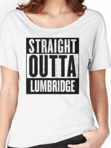 Straight Outta Lumbridge Women's Relaxed Fit T-Shirt