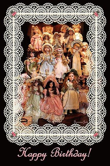 So Many Dolls! A Birthday Greeting by SummerJade