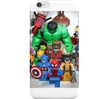Lego Spider Man and Friends  iPhone Case/Skin