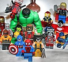 Lego Spider Man and Friends  by XxDeadmanzZ