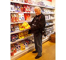 A Dutchman who shop like a tourist Photographic Print