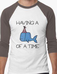 Having a Whale of a Time Men's Baseball ¾ T-Shirt