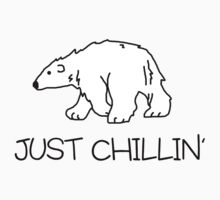 Just chillin' Baby Tee
