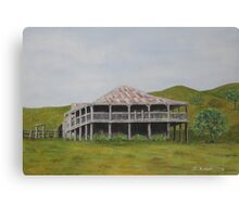 Old Queensland House - Painting Canvas Print