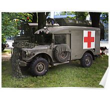 Dodge M43 Ambulance Poster
