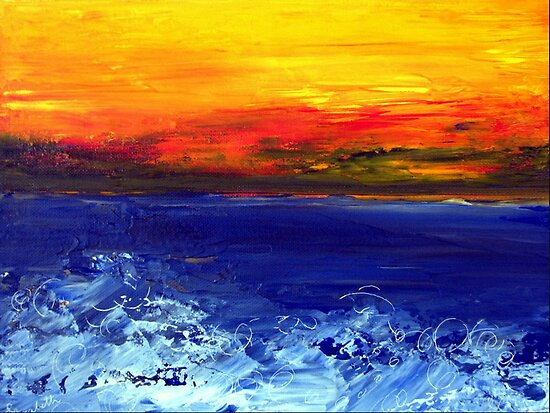 Sea and sky by Elizabeth Kendall