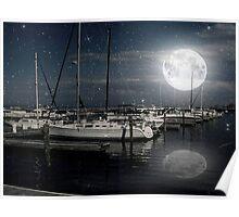 Que Bonita Luna ©  Poster