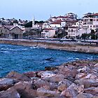 The Background of Jaffa by Nira Dabush