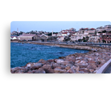 The Background of Jaffa Canvas Print