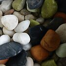 Colourful Stones by Angela Gannicott