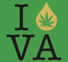 I Dab VA (Virginia) Weed by LaCaDesigns