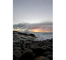 Cobbled Dawn Photographic Print