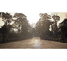 Preah Khan Gate, Siem Reap Photographic Print