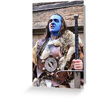 Adam The Scottish Braveheart  Greeting Card