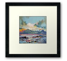 Cuillins from Elgol Framed Print
