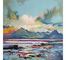 Cuillins from Elgol Photographic Print