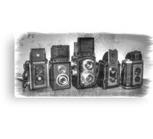 Twin Lens Reflex Cameras Canvas Print