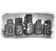 Twin Lens Reflex Cameras Poster