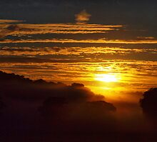 Sunrise Over Devon by Clive