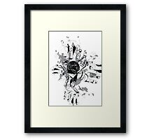 To hold onto a center Framed Print