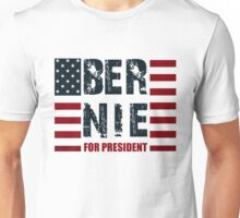 Bernie Sanders US Flag Unisex T-Shirt