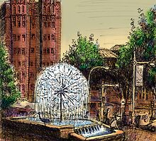 El Alamein Fountain, Kings Cross by Joel Tarling