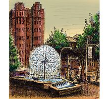 El Alamein Fountain, Kings Cross Photographic Print