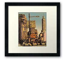 William Street, Kings Cross Framed Print