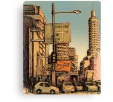 William Street, Kings Cross Canvas Print